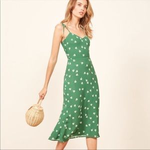 Reformation Nectar Dress In Tulips Size 4 NWT
